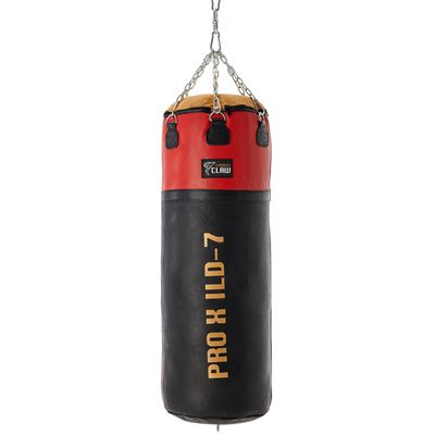 Carbon Claw PRO X ILD-7 4ft Heavy 65kg Leather Punch Bag - Back