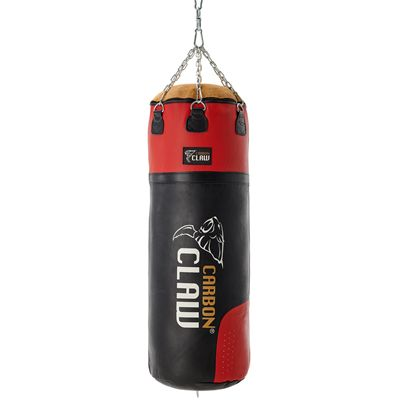 Carbon Claw PRO X ILD-7 4ft Heavy 65kg Leather Punch Bag - Front