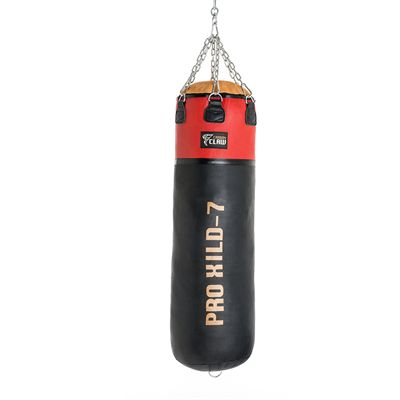 Carbon Claw PRO X ILD-7 4ft Pro Heavy Leather Punch Bag - Back