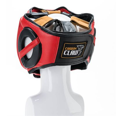 Carbon Claw PRO X ILD-7 Pro Adjustable Leather Head Guard - Back