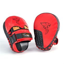 Carbon Claw PRO X ILD-7 Pro Leather Heavy Hit Hook and Jab Pad