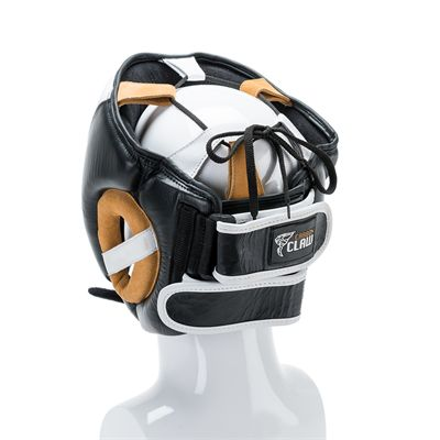 Carbon Claw Recoil RX-7 Adjustable Leather Gel Headguard - back view