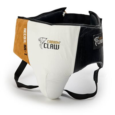 Carbon Claw Recoil RX-7 Leather Abdominal Guard - Front