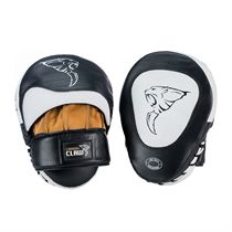 Carbon Claw Recoil RX-7 Leather Curved Hook and Jab Pads