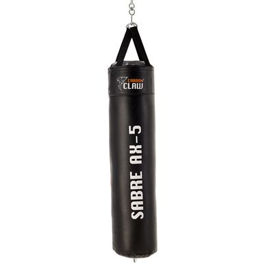 Carbon Claw Sabre TX-5 4ft Synthetic Leather Punch Bag - Back -New