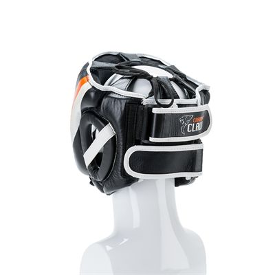 Carbon Claw Sabre TX-5 Synthetic Leather Adjustable Headguard - Back View