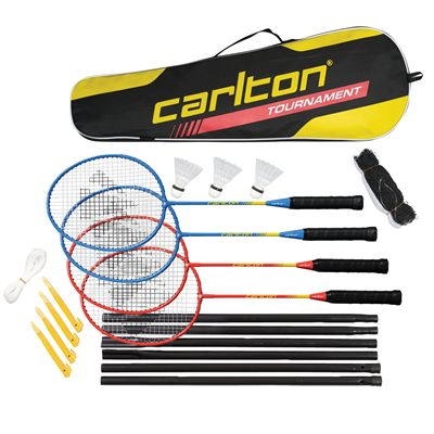 Carlton Tournament 4 Player Badminton Set