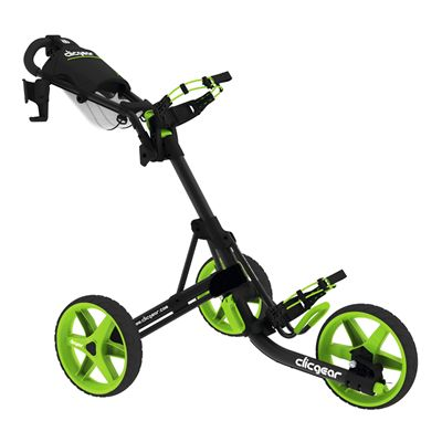 Clicgear 3.0 Golf Trolley Charcoal Lime