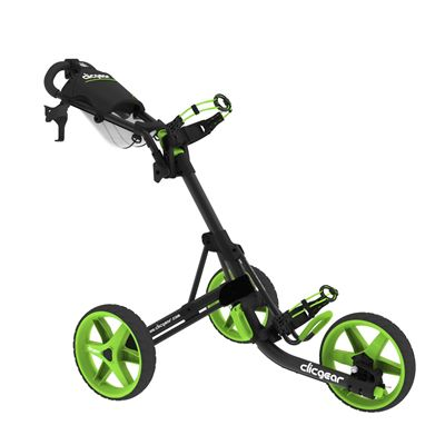 Clicgear 3.5 Golf Trolley Charcoal Lime