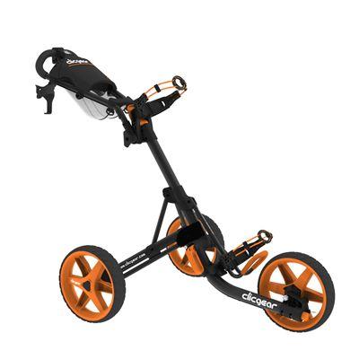 Clicgear 3.5 Golf Trolley Charcoal Orange