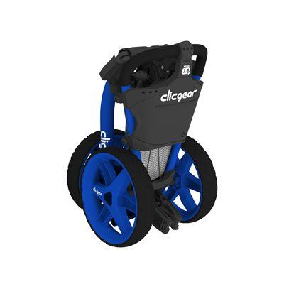 Clicgear 3.5 Golf Trolley - Blue/Folded