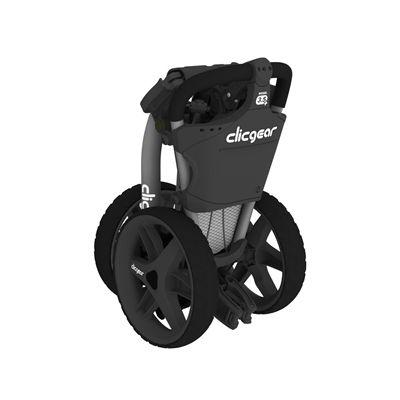 Clicgear 3.5 Plus Golf Trolley - Charocal/Folded