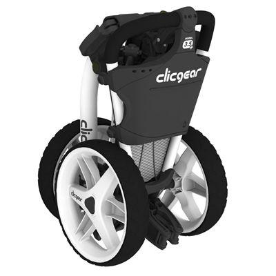 Clicgear 3.5 Plus Golf Trolley - White/Folded