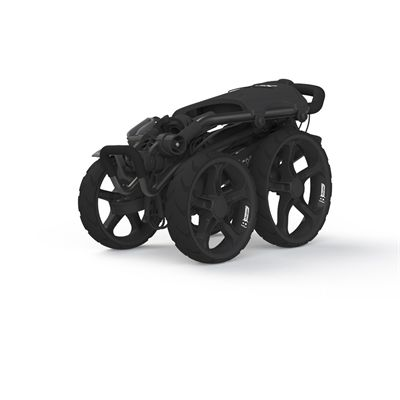 Clicgear 8.0 Golf Trolley-Charcoal-Folded