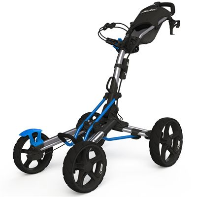 Clicgear 8.0 Golf Trolley - Silver and Blue