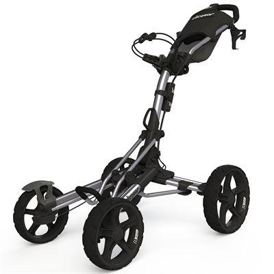 Clicgear 8.0 Golf Trolley - Silver and Grey