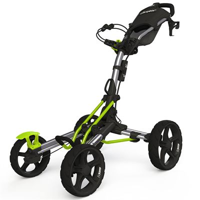 Clicgear 8.0 Golf Trolley - Silver and Lime