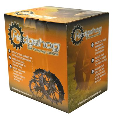 Clicgear 8.0 Hedgehog Wheels - Pack of 4 - Box