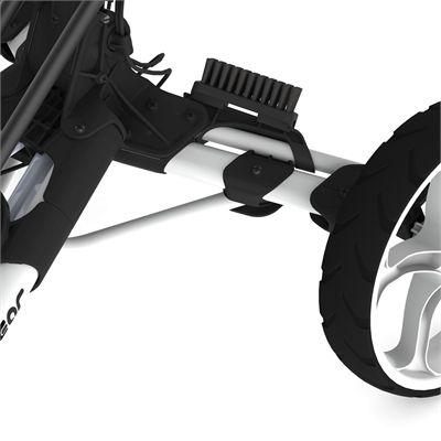 Clicgear 8.0 Shoe Brush - Black - Trolley