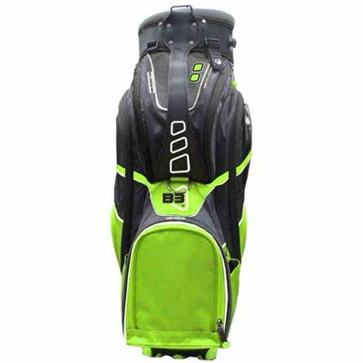Clicgear B3 Cart Bag 2015 - Lime - Front