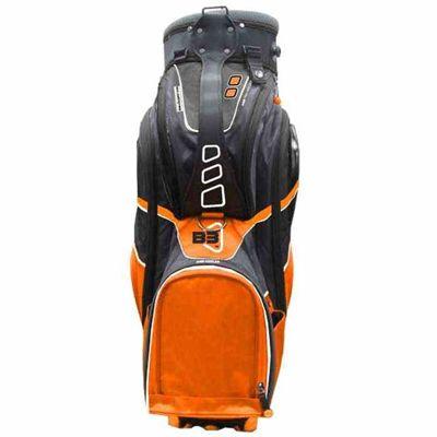Clicgear B3 Cart Bag 2015 - Orange - Front