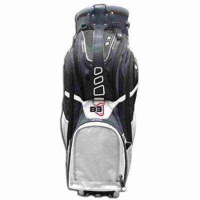 Clicgear B3 Cart Bag 2015 - Silver - Front
