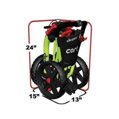 Clicgear Golf Trolley Folded