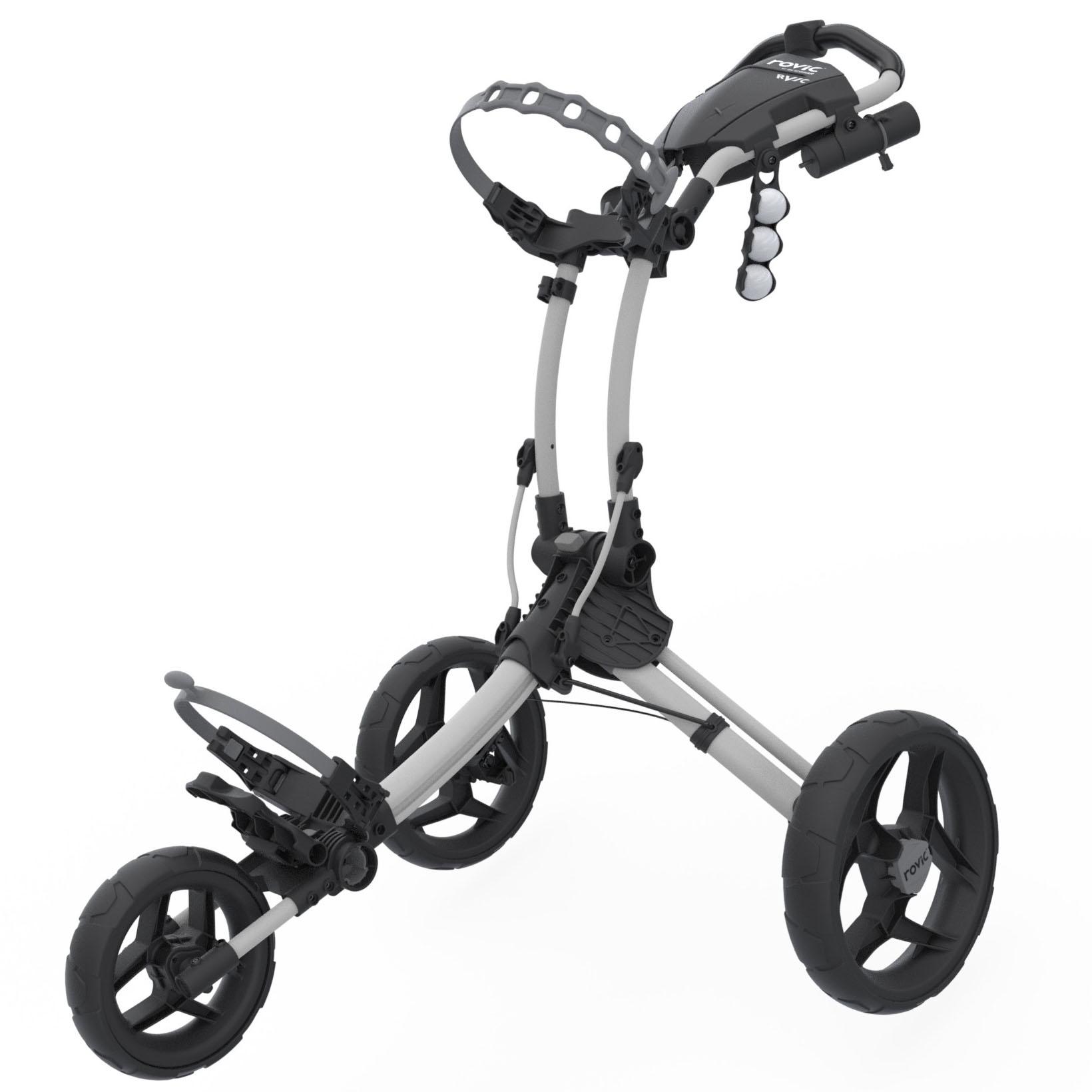 Clicgear Rovic RV1C Compact Golf Trolley – White