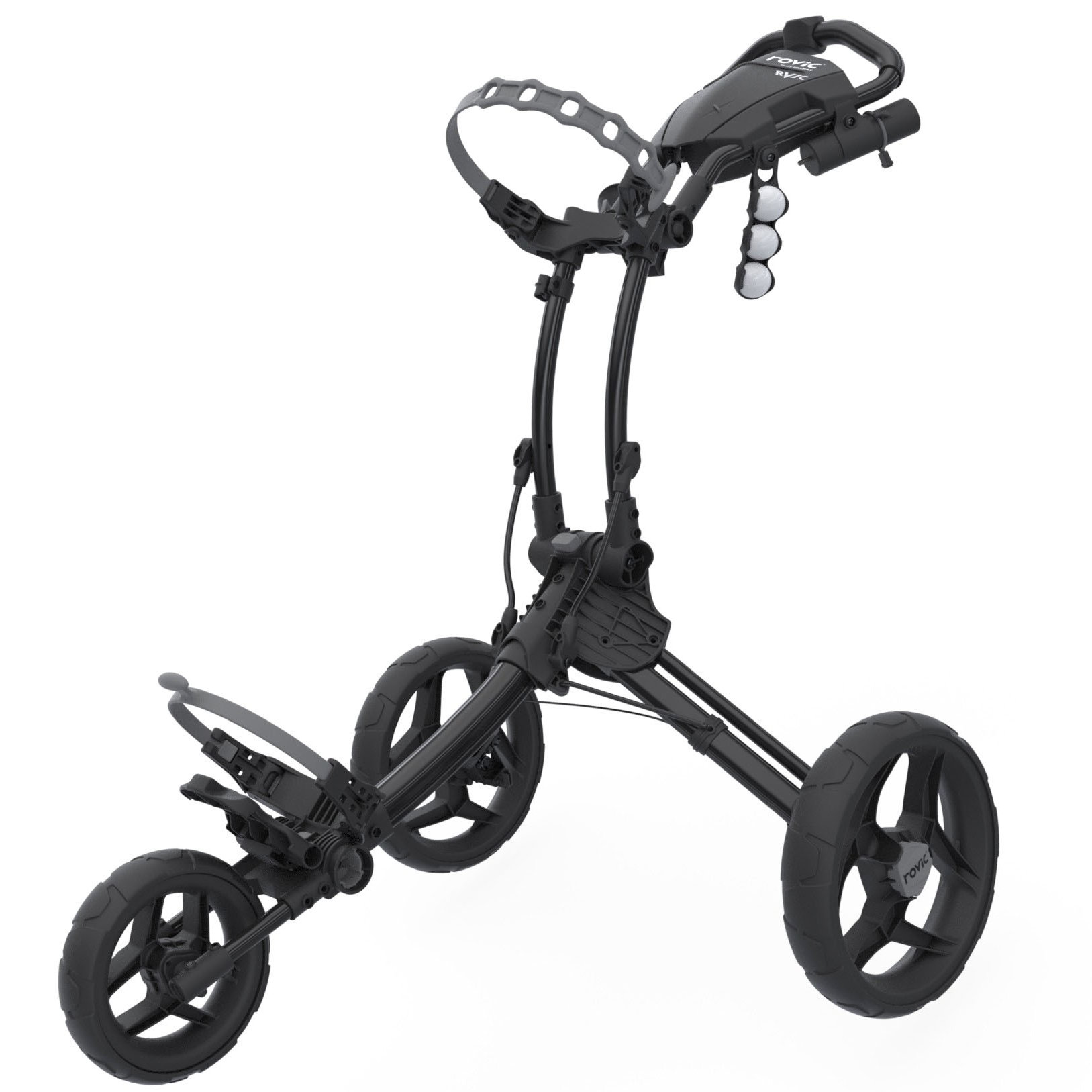 Clicgear Rovic RV1C Compact Golf Trolley – Charcoal