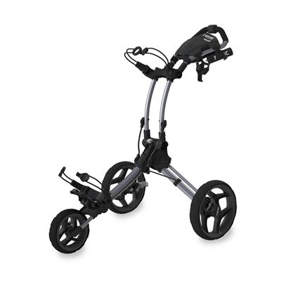 Clicgear Rovic RV1C Compact Golf Trolley - Silver