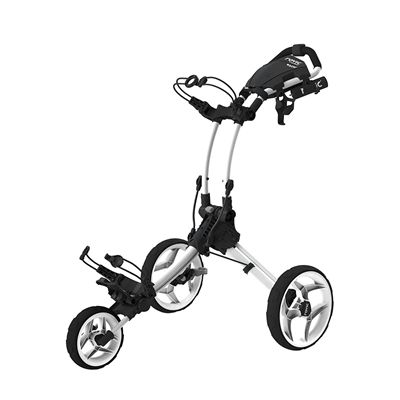 Clicgear Rovic RV1C Compact Golf White Trolley
