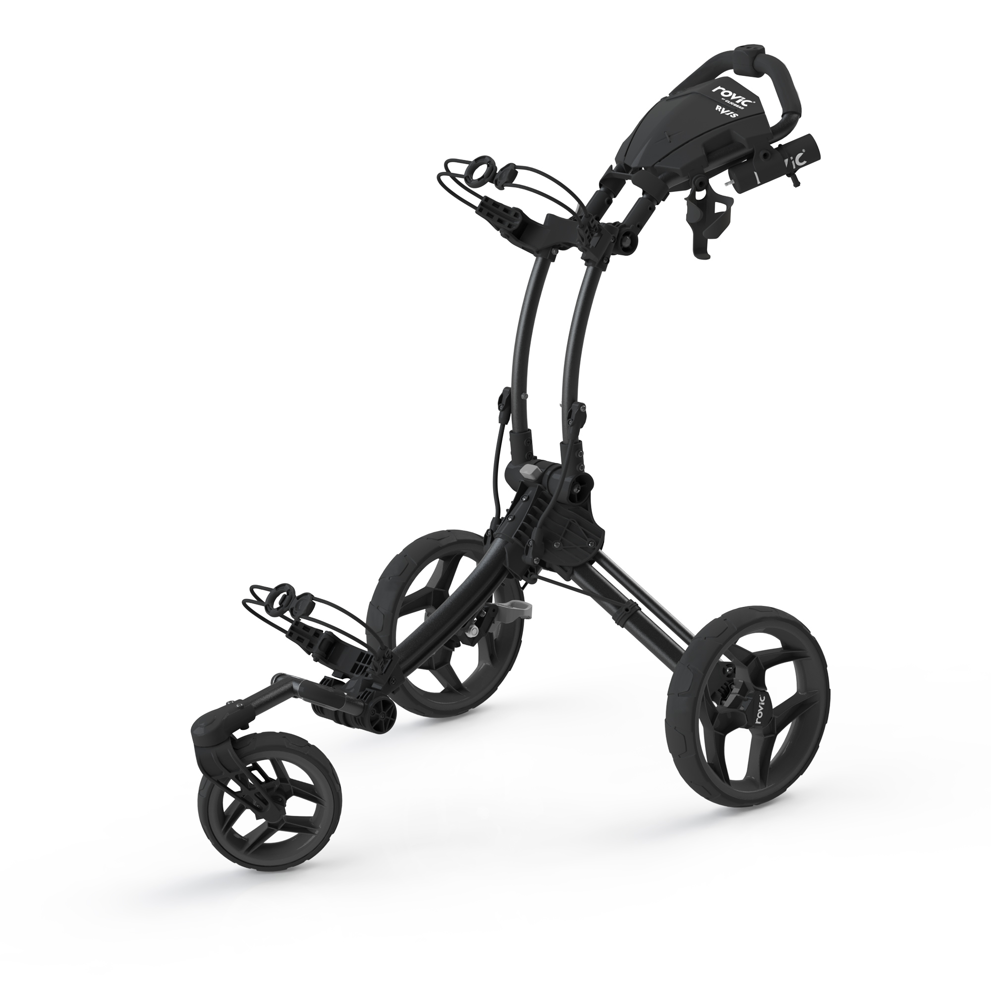 Clicgear Rovic RV1S Swivel Golf Trolley  Charcoal