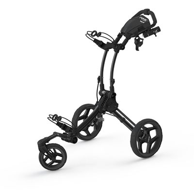 Clicgear Rovic RV1S Swivel Golf Trolley-Charcoal And Black