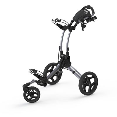 Clicgear Rovic RV1S Swivel Golf Trolley-Silver And Black