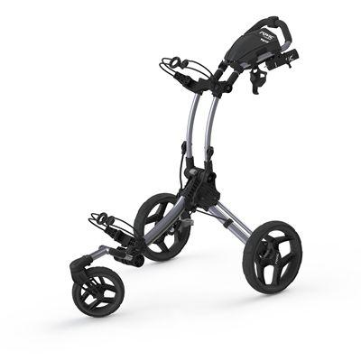 Clicgear Rovic RV1S Swivel Golf Trolley-Silver And Black