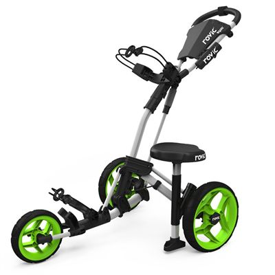 Clicgear Rovic RV2L Attachable Cart Seat - In Use