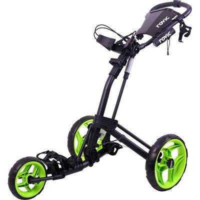 Clicgear Rovic RV2L Golf Trolley-Lime