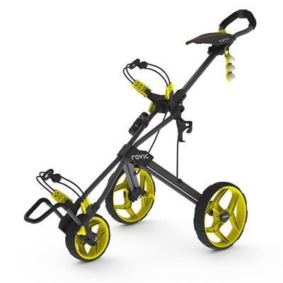 Clicgear Rovic RV3F Golf Trolley - yellow