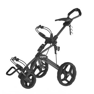 Clicgear Rovic RV3J Compact Junior Golf Trolley - Black
