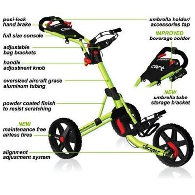 ClicGear Golf Trolley Explained