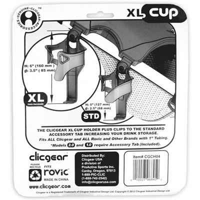 Clicgear Cup Holder XL - Details