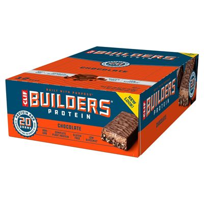 Clif Builders Protein Bars - Pack of 12 - choco pack main