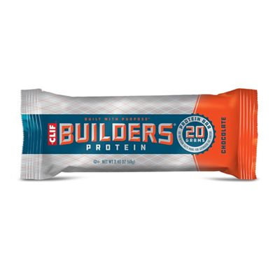 Clif Builders Protein Bars - Pack of 12 - choco single