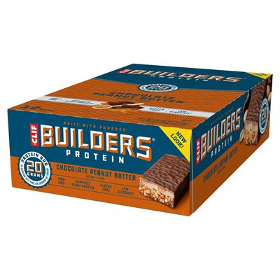 Clif Builders Protein Bars - Pack of 12 - peanut pack main