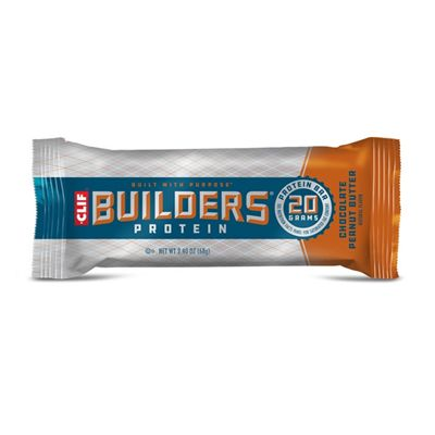 Clif Builders Protein Bars - Pack of 12 - peanut single
