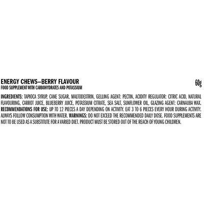 Clif Shot Blocks - Pack of 18 - ingredients berry