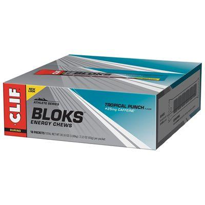 Clif Shot Blocks - Pack of 18 - tropical pack