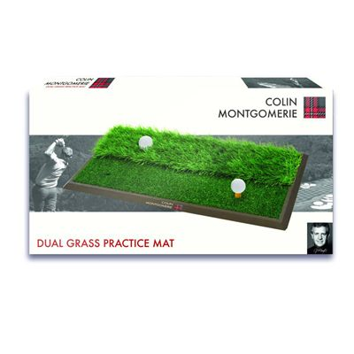 Colin Montgomerie Dual Practice Mat - Box