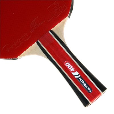 Cornilleau 400 Sport Table Tennis Bat - Pack of 4 - Handle