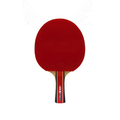 Cornilleau 400 Sport Table Tennis Bat - Pack of 4 - Red Side